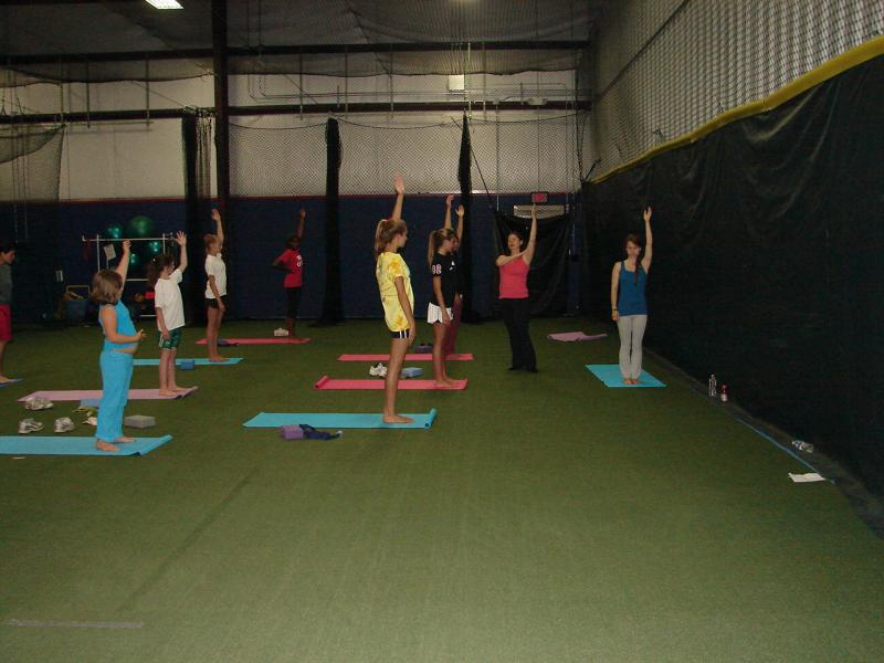 Rosabeth at Pitchafit Softball Training Facility in Virginia Beach, VA